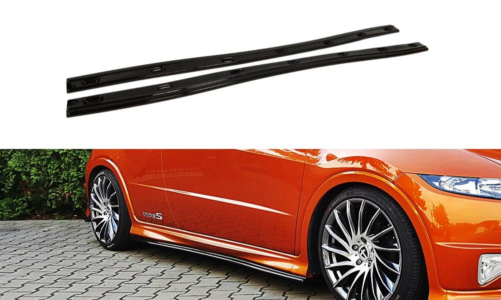 Dokładki Progów Honda Civic VIII Type-S/R - GRUBYGARAGE - Sklep Tuningowy